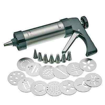 Decorating Piping Gun Kitchen Biscuit Cookie Cake Nozzle Cutter Set Home Party