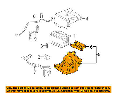 GM OEM-Battery Tray 25924144