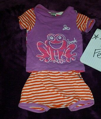 BONDS PJS SET SIZE 000 FROG inc postage