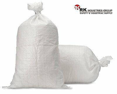 RK Polypropylene empty SandBag sand bag  with Built-in Ties, UV protection
