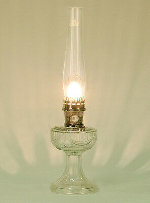 Aladdin Lamps Clear Crystal Short Lincoln Drape Lamp C6192N Or #100007382  Nickel