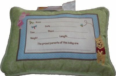 Winnie the Pooh Embroidered Keepsake Pillow - Sunny Day