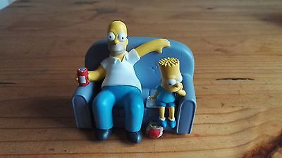 The Simpsons - Homer and Bart on Sofa - Collectable