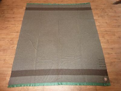 1920's Hudson's Bay Company Wool Blanket - 4 Point - Grey