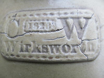 Very Rare and Very Early stoneware slabseal dated 1826 of unusual coluring