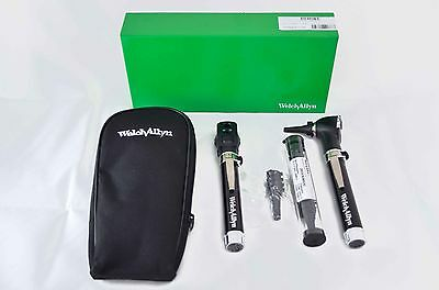 New Welch Allyn  Diagnostic Set Pocket Junior 95001 Opthalmoscope Otoscope