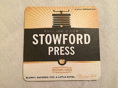 Beer Mats / Coaster 1 x Stowford Press