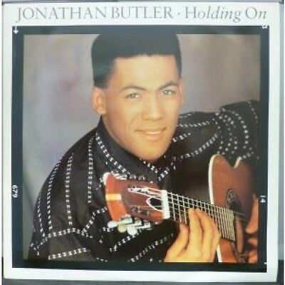 "JONATHAN BUTLER Holding On 12"" VINYL UK Jive 1987 3 Track Extended Version"