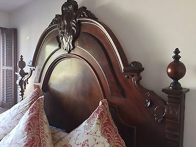 Henredon King Carlyle Collection Mahogany Bed