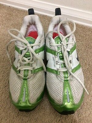 Womens Nike Air Max 180 Training Shoes Size: 6.5 Green White