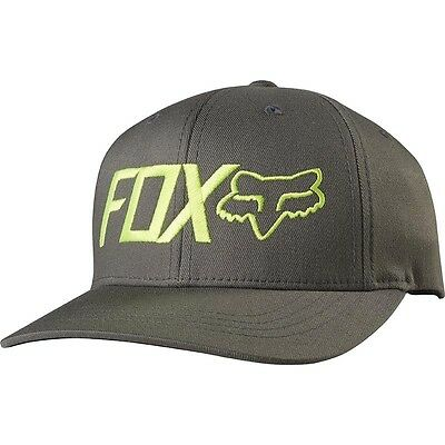 NEW Fox Racing MX Kids Draper Motocross Cap Graphite Moto Toddler Flexfit Hat