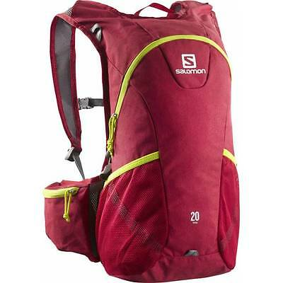 Salomon Trail 20 red chiné / gecko green