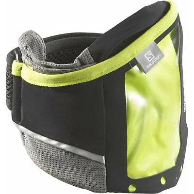 Salomon Park Media Armband black / gecko green