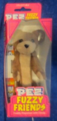 Pez Fuzzy Friends Brown Bear Dispenser