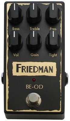 Friedman Amplification  ~ BE-OD Overdrive Pedal Authorised Dealer