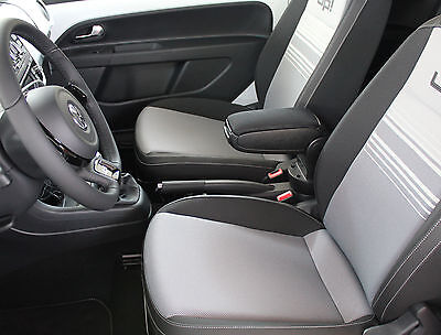 Vw Up! (2011-2016) Centre Console Armrest Black New - Free Postage