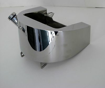 New! Polished Stainless Oil Tank 86-99 Softail Indian Bobber Harley