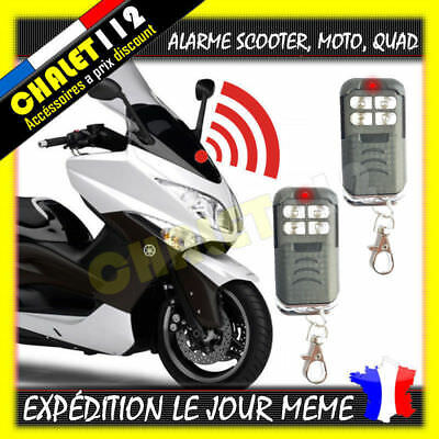 alarme scooter avec 2 t l commandes scooter moto quad eur 24 90 picclick it. Black Bedroom Furniture Sets. Home Design Ideas