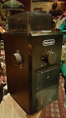 DELONGHI KG79 Coffee Burr Grinder with Grind and Quanity Selector