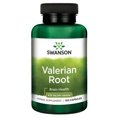 Valeria Root 475mg x 100 Capsules MOOD & RELAXATION