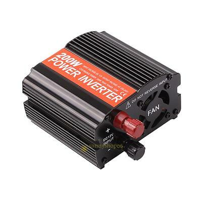 200W Car Inverter Converter DC12V To AC 220V/110v Car Auto Marine Power Inverter