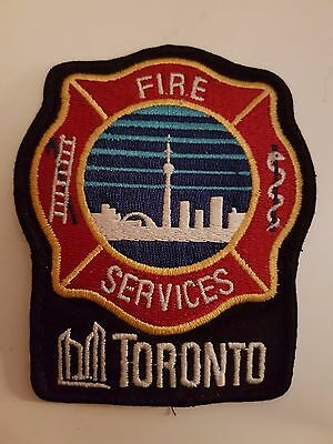Toronto Fire Services - Canadian Fire Department Patch