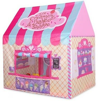 Kids Playhouse Tent Shop Princess Castle Indoor Outdoor Girl Cubby House Toys