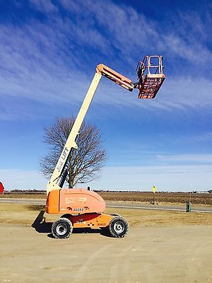 2005 Jlg 460Sj 46' 4X4 Cat Diesel Straight Boom Man Lift W/ Jib Cherry Picker