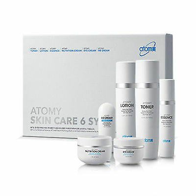 Atomy Skin Care 6 System Morning Set with All Natural Ingredients Herbal