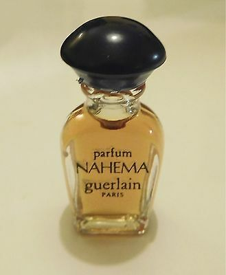 Lovely vintage 1980 DISCONTINUED Nahema by Guerlain parfum/extrait miniature 1ml