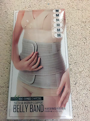 Postnatal recovery & support belt / belly band - Mamaway Bamboo