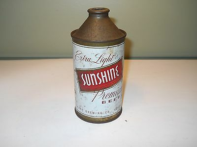 SUNSHINE Extra Light Cone Top Beer Can