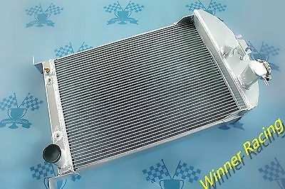 56mm aluminum radiator for Ford Car W/Chevy 350 V8 AUTO AT 1933 -1934 33 34