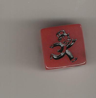 Monopoly Game Pieces -replacement dice die - red speed die