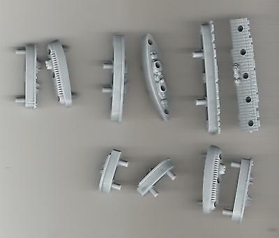 Battleship Game Pieces - lot of 10 ships - as shown