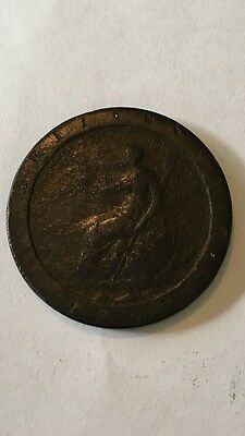 UNITED KINGDOM 1797 AUSTRALIA PROCLAIMATION Cartwheel Penny  George 111 SCARCE