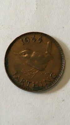 Great Britain 1944 Farthing .....UK