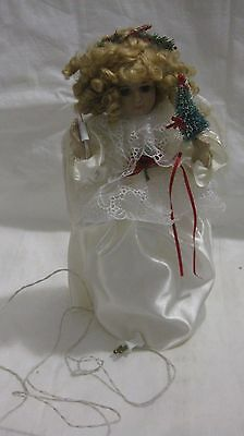 Rare Christmas Around The World 17in. Light Up Swedish Angel From House Of Lloyd