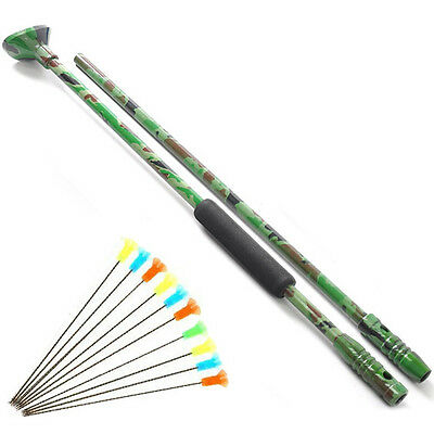 Blow Gun with Junction Tube and 10pcs arrows blow darts Outdoor FREE SHIPPING