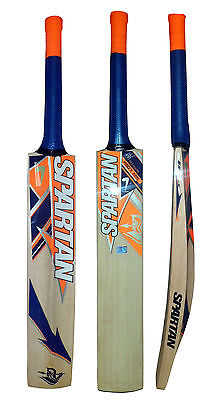 Spartan Kashmiri Willow Wood MSD 7 King Limited Edition Cricket Bat-Carry Case
