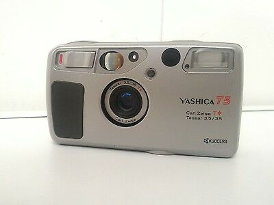 yashica t5 35mm film camera