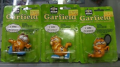 Garfield Sports Figurines (fun farm by Dakin)
