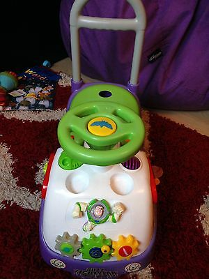 Toy Story Buzz Lightyear Infant Ride On Car