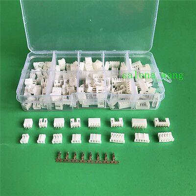 80 sets JST PH 2.0mm Pitch 2P 3 4 5Pin Connector with Terminal and Female Socket