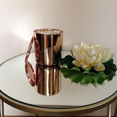 Soy Candle  | Copper/ Rose Gold Jar | 60Hrs | Scented |Home Decor | J Serenity |