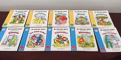 Letterland Books Stage 2 And 3 Set Of 10 Books