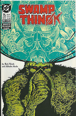Swamp Thing #75 - August 1988