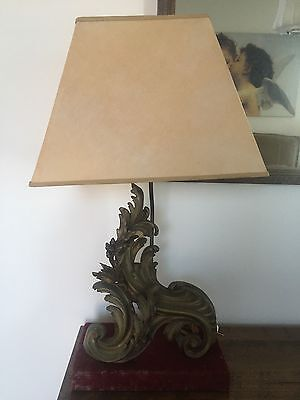 Lamps x 3 C19th French Gilt Bronze
