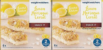 [41,20 €/kg] 12x Weight Watchers Zitronen-Baiser-Riegel