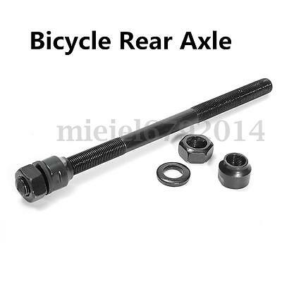 9.7 x 174mm Cycle Wheel Axle Bicycle Spindle Rear Hub Bike Repair Replacements